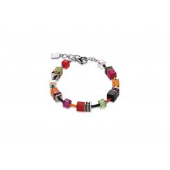 COEUR DE LION Geo Cube Garden Glow Bracelet 2838/30-1553