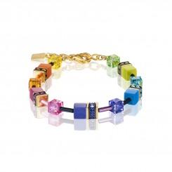 COEUR DE LION Geo Cube Fresh Rainbow Bracelet 2838/30-1573