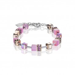 COEUR DE LION Geo Cube Soft Rose Pink Bracelet 4016/30-1920