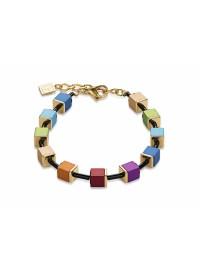 COEUR DE LION  Diamond Cut Aluminium Multi-Coloured Bracelet 4892/30-1500 - LIMITED EDITION