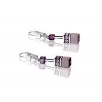 COEUR DE LION Geo Cube Soft Rainbow Earrings 2838/20-1570