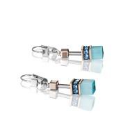 COEUR DE LION Geo Cube Fresh Turquoise Earrings 4016/20-2000