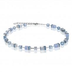 COEUR DE LION Natural Chalcedony Blue Necklace 4017/10-0720