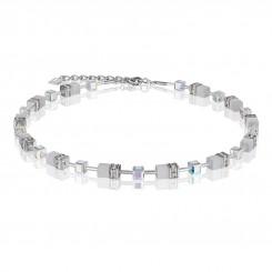COEUR DE LION White Crystal Necklace 4322/10-1400
