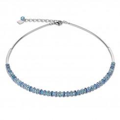 COEUR DE LION Swarovski Cut Glass Pale Blue Necklace 4858/10-0720