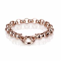 KAGI Rose Gold Steel Me Bracelet