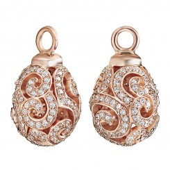 KAGI Rose Gold Imperial Ear Charms