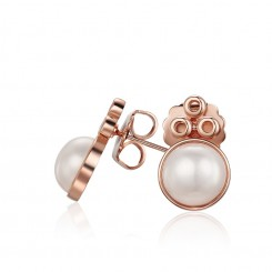 KAGI Rose Champagne Bubble Earrings