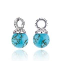 KAGI Turquoise Drops Earrings