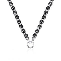 KAGI Haematite Luxe 49cm Necklace