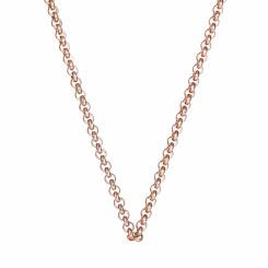 KAGI Rose Gold Steel Me Petite 47cm Necklace