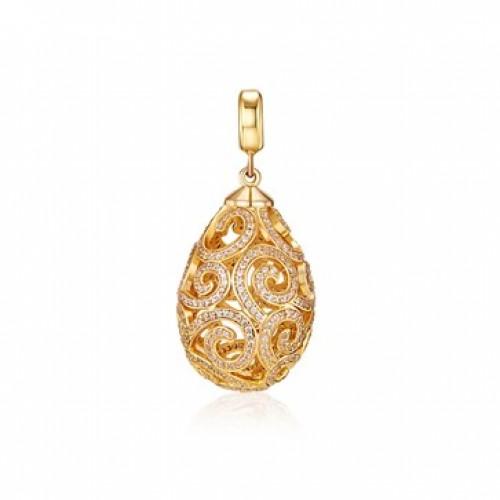 Kagi Gold Imperial Pendant Medium