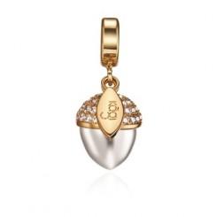 KAGI Silver Acorn Charm