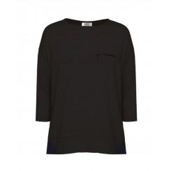 Mela Purdie Zip Pocket Sweater - Matte Jersey - Sale