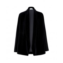 Mela Purdie Smoking Jacket - Velvet