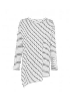 Mela Purdie Slide On Sweater - Quay Stripe - Compact Knit - Sale