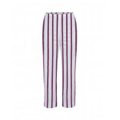 Mela Purdie Cropped Pant - Federal Stripe Microprene
