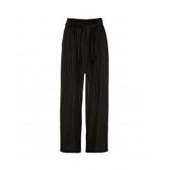 Mela Purdie Maxi Retreat Pant - Glitter Stripe Print Mousseline
