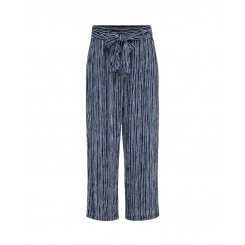 Mela Purdie Retreat Pant - Tidal Stripe Print - Mousseline