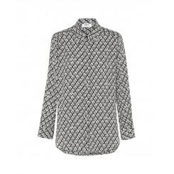 Mela Purdie Soft Shirt - Fijian Check Print Mousseline