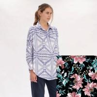 Mela Purdie Roule Overshirt - Juniper Floral Print - Sale