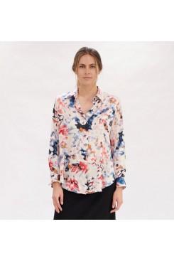 Mela Purdie Soft Shirt - Moon Flower Print