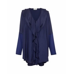 Mela Purdie Spliced Wave Overshirt - Sale