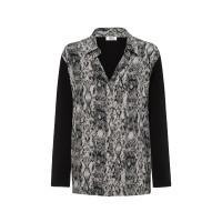 Mela Purdie Spliced Soft Shirt - Viper Print - Sale