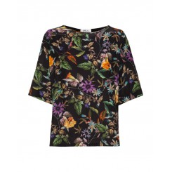 Mela Purdie Spliced Plaza - T - Dolce Floral Print