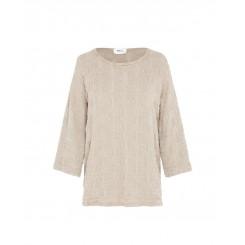 Mela Purdie Spa Top - Macrame Jacquard Knit - Sale