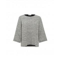 Mela Purdie Resort Sweater - Double Knit Stripe