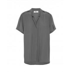 Mela Purdie S.S Fold Shirt - Mousseline