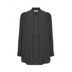 Mela Purdie Zip Fold Shirt - Mousseline