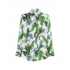 Mela Purdie Soft Shirt - Maui Print Mousseline