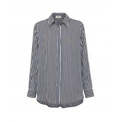 Mela Purdie Soft Shirt - Shutter Stripe Mousseline