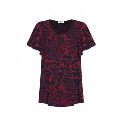 Mela Purdie Scroll Top - Scarlett Floral Print - Sale