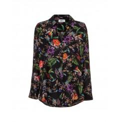 Mela Purdie Soft Shirt - Dolce Floral Print - Sale