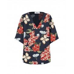 Mela Purdie Tab Plaza T - Punta Mita Floral Silk Print
