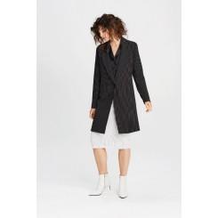 Mela Purdie Pencil Skirt - Stripe Crepe Double Knit - Sale