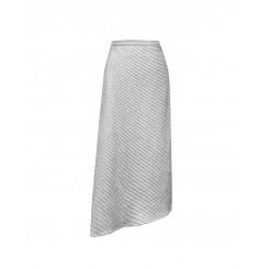 Mela Purdie Oblique Skirt - Marl Stripe Ridge Knit - Sale