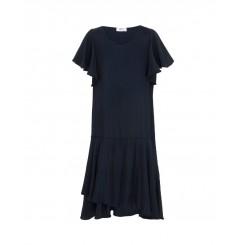 Mela Purdie Scroll Wrap Dress - Macro-Mousseline