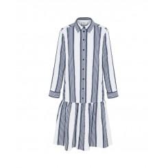 Mela Purdie Florence Dress - Positano Stripe - Microprene - Sale