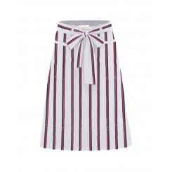 Mela Purdie Tie Skirt - Federal Stripe Microprene