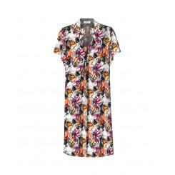 Mela Purdie Garden Dress - Watercolour Floral - Sale