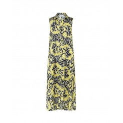 Mela Purdie Havana Maxi Dress - Gilt Chiffon Satin Print - Sale
