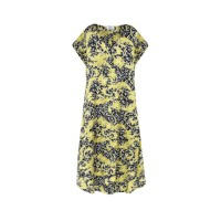Mela Purdie Sway Dress - Gilt Chiffon Satin Print - Sale