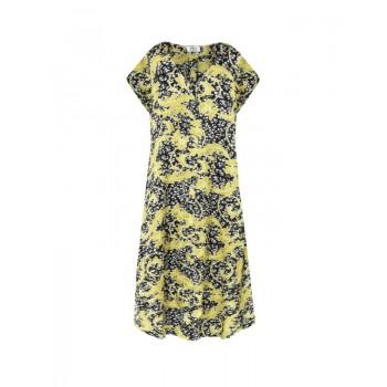 Mela Purdie Sway Dress - Gilt Chiffon Satin Print - Sale