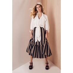 Mela Purdie Mumbai Skirt - Mumbai Stripe - Sale