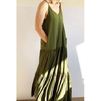 Mela Purdie Mumbai Maxi Dress - Macro-Mousseline - Sale