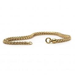 Gold 14ct Bracelet, 17cm